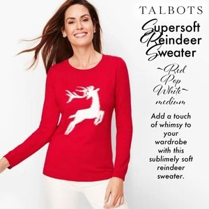 Supersoft Reindeer Sweater